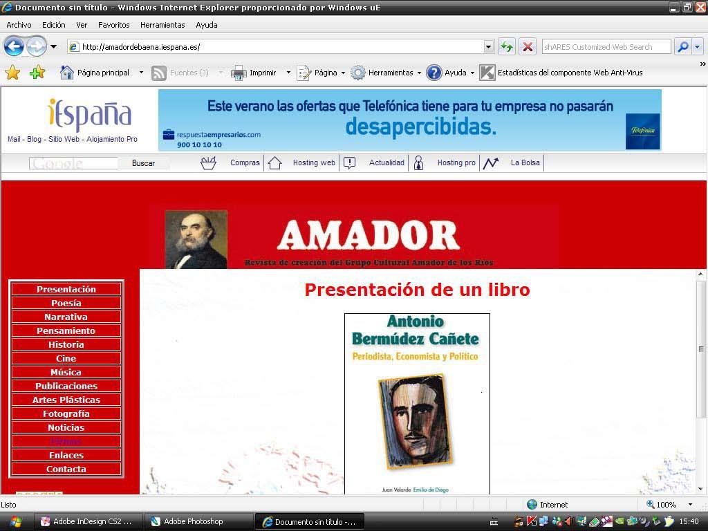 Revista anuncio Bermudez C