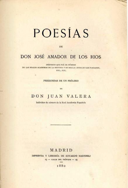 Poesias A de los Rios