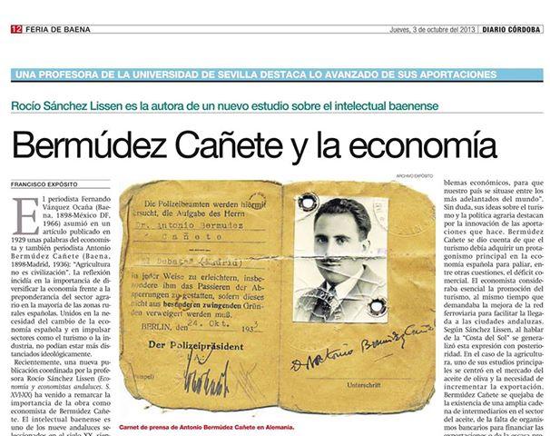 B Cañete y la Economia