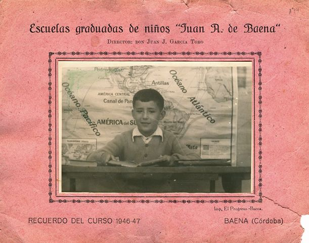 Recuerdo colegio J Rodriguez Alc