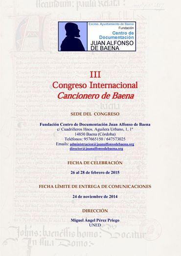 III Congreso JA Baena