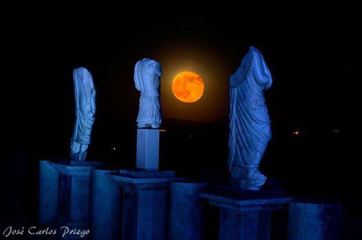 Luna en Torreparedones