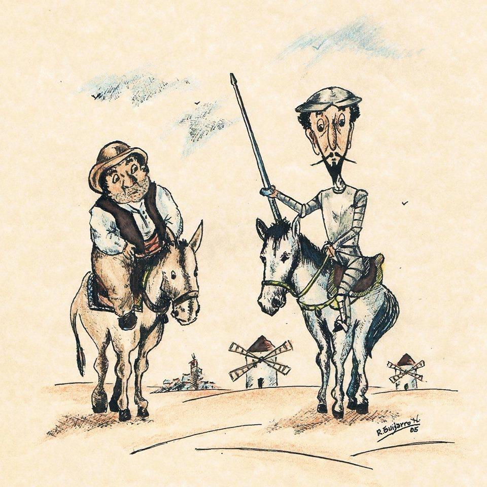 Ilustracion D Quijote